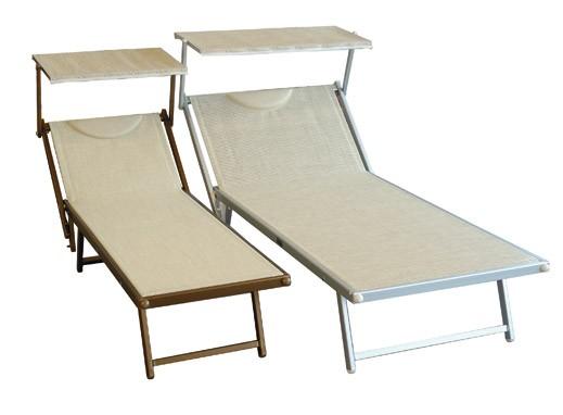 Lettini Da Spiaggia Alluminio.Lettini Da Spiaggia Vico Snc