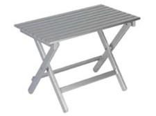 Tavolino Rettangolare Alluminio